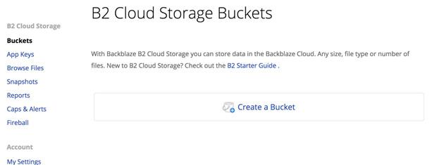 How To Configure and Backup to Backblaze B2 Storage