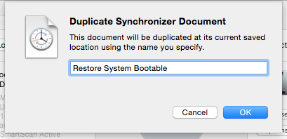 Duplicate Sync Document
