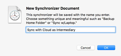 Name your sync document