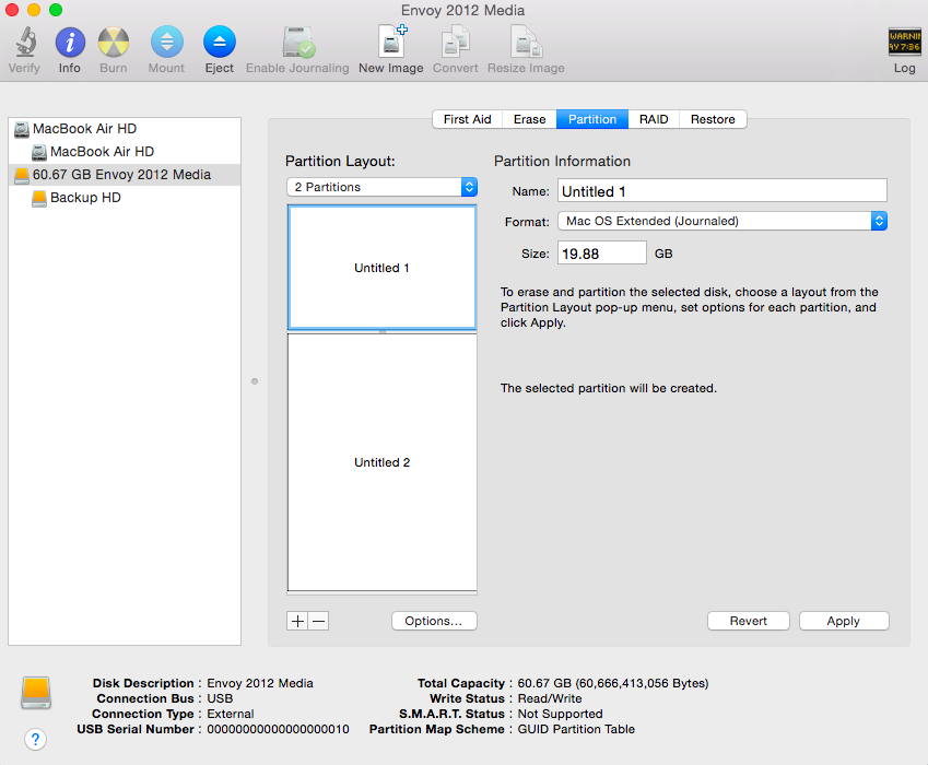 how to change size of partition on mac