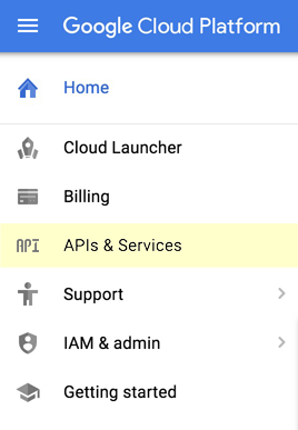 Google Cloud API Manager