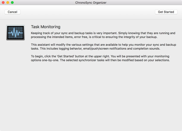 Task Monitoring explanation