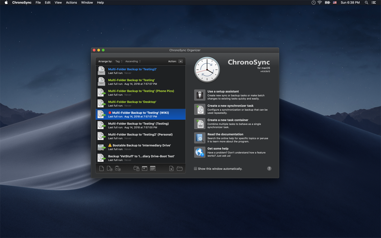 What's New in ChronoSync 4 9
