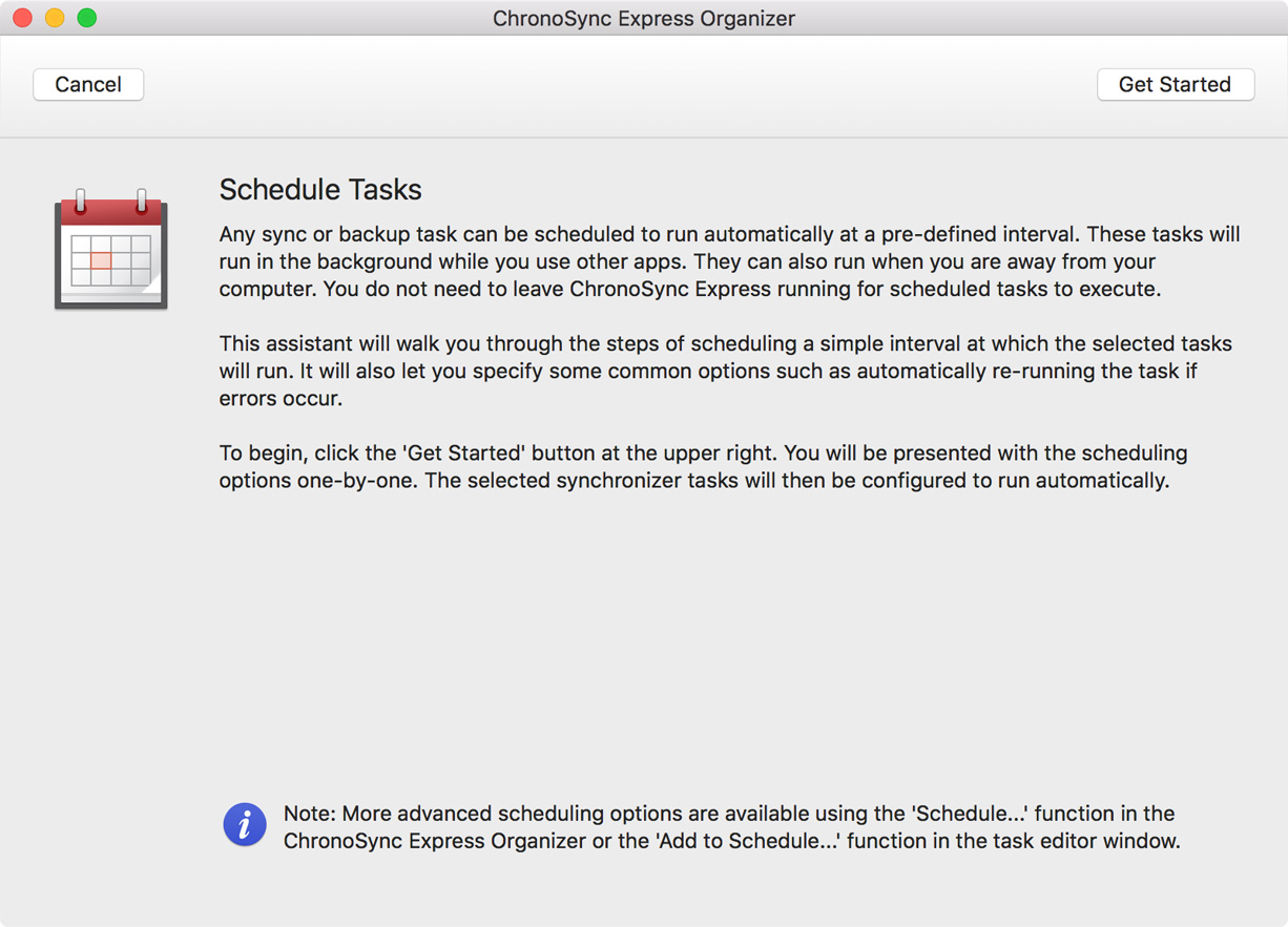 Simple Scheduling Assistant