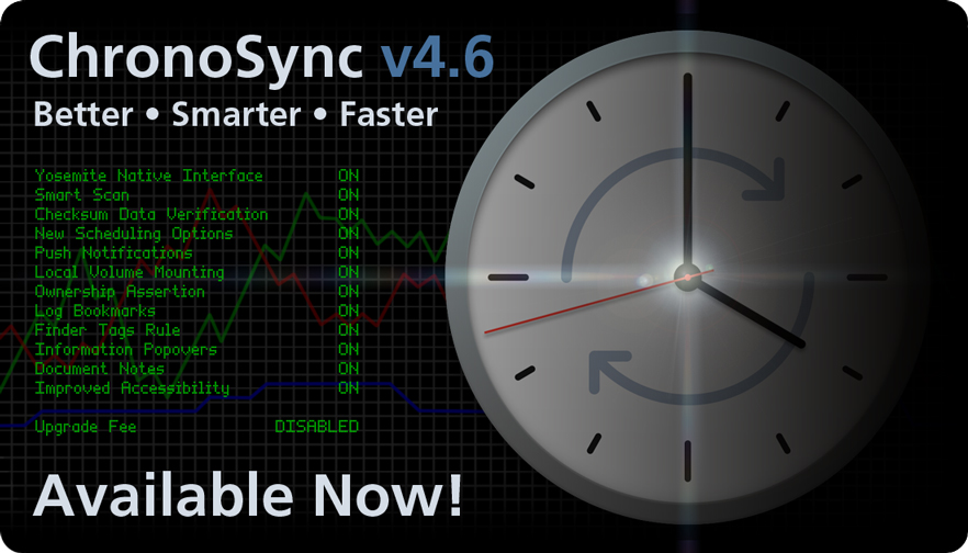 ChronoSync 4.6 is Better, Smarter, and Faster