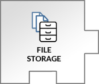 Store, organize, and open all your files in a sharespace